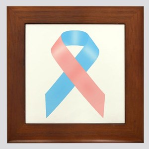 Awareness Ribbon Framed Tile