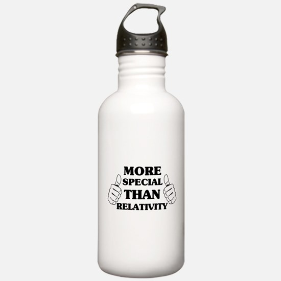 More special than relativity Water Bottle