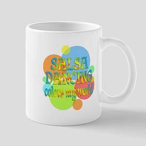 Salsa Colors My World Mug