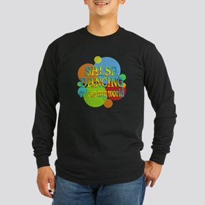 Salsa Colors My World Long Sleeve Dark T-Shirt