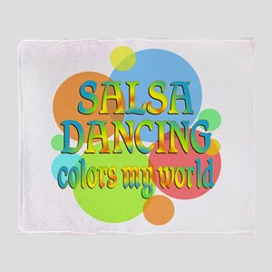 Salsa Colors My World Throw Blanket