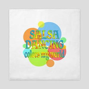 Salsa Colors My World Queen Duvet