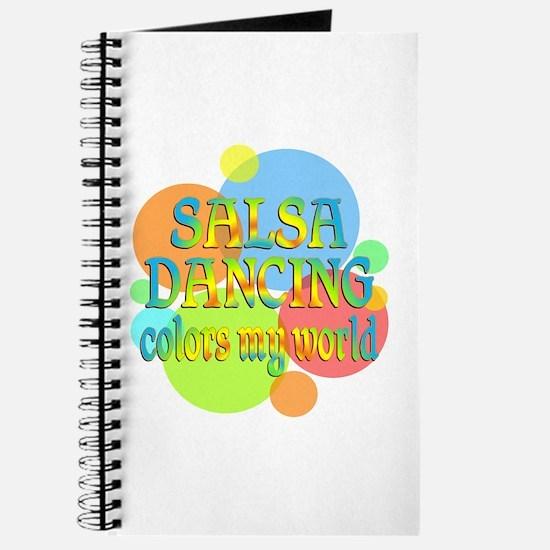 Salsa Colors My World Journal