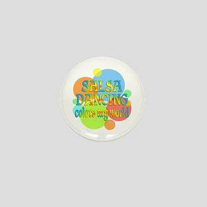 Salsa Colors My World Mini Button