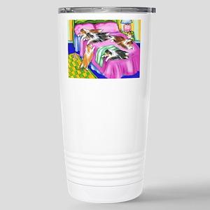 Sheltie Pink Comfort Stainless Steel Travel Mug