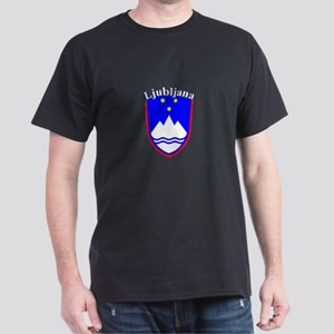 Ljubljana, Slovenia Dark T-Shirt
