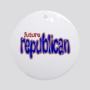 Future Republican Ornament (Round)