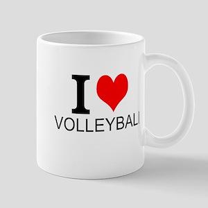 I Love Volleyball Mugs