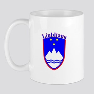 Ljubljana, Slovenia Mug