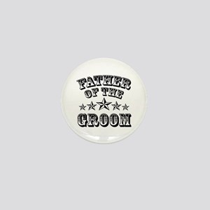 Cool Father Of The Groom Wedding Favor Mini Button