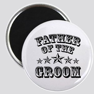 Cool Father Of The Groom Wedding Favor Magnets