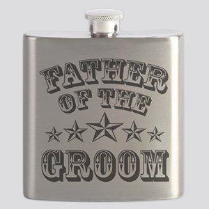 Cool Father of the Groom Flask