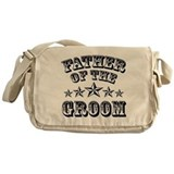 Father of the groom Canvas Messenger Bags