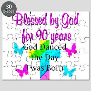 90TH LOVE JESUS Puzzle