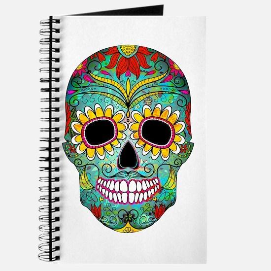Unique Sugar skull Journal