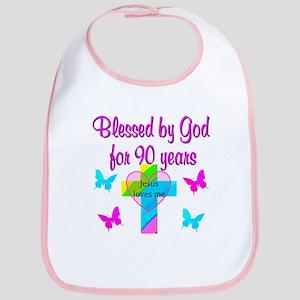 CHRISTIAN 90TH Bib