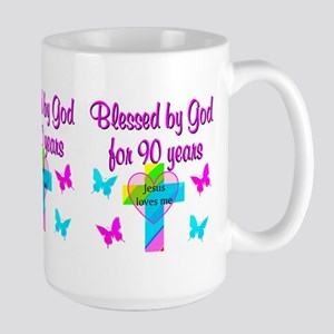 CHRISTIAN 90TH Large Mug