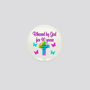 CHRISTIAN 90TH Mini Button