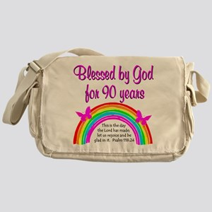PRECIOUS 90TH Messenger Bag