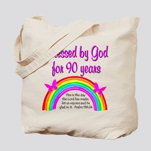 PRECIOUS 90TH Tote Bag