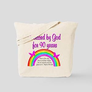 90 Year Old Birthday PRECIOUS 90TH Tote Bag
