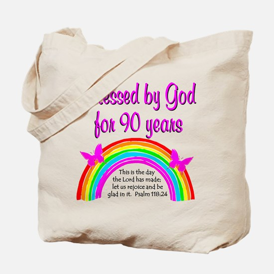 PRECIOUS 90TH Tote Bag