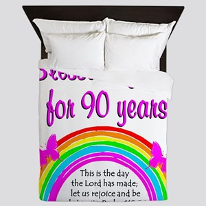 PRECIOUS 90TH Queen Duvet