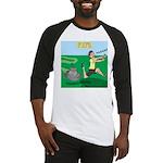 Lawn-bot 3000 Baseball Jersey