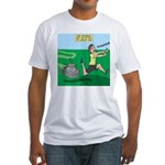Lawn-bot 3000 Fitted T-Shirt