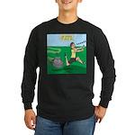 Lawn-bot 3000 Long Sleeve Dark T-Shirt