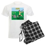 Lawn-bot 3000 Men's Light Pajamas