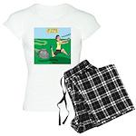 Lawn-bot 3000 Women's Light Pajamas