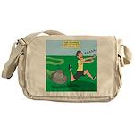 Lawn-bot 3000 Messenger Bag
