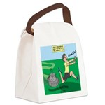 Lawn-bot 3000 Canvas Lunch Bag