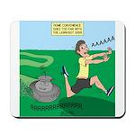 Lawn-bot 3000 Mousepad