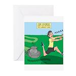 Lawn-bot 3000 Greeting Cards (Pk of 20)