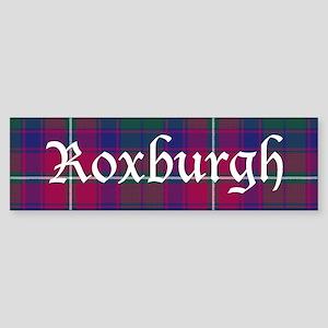 Tartan - Roxburgh dist. Sticker (Bumper)
