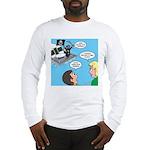 Houseboat Pirate Long Sleeve T-Shirt
