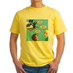 Houseboat Pirate Yellow T-Shirt