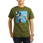 Houseboat Pirate Organic Men's T-Shirt (dark)