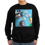 Houseboat Pirate Sweatshirt (dark)