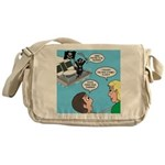 Houseboat Pirate Messenger Bag