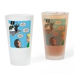 Houseboat Pirate Drinking Glass
