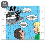 Houseboat Pirate Puzzle