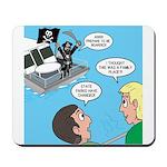 Houseboat Pirate Mousepad