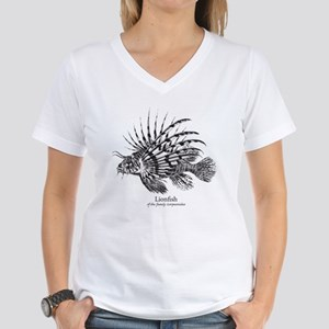 Lionfish Women's V-Neck T-Shirt