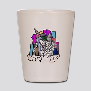 nyc bish  Shot Glass