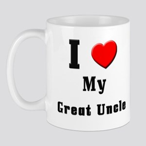 I Love Great Uncle Mug