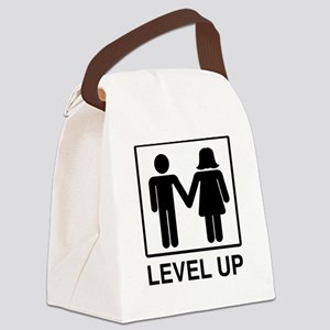 Level Up Canvas Lunch Bag