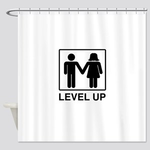 Level Up Shower Curtain
